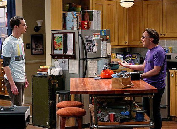 The Status Quo Combustion' s7e24 Big Bang Theory