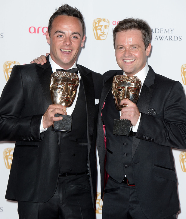 BAFTA Television awards 2014: Ant and Dec Entertainment Performance