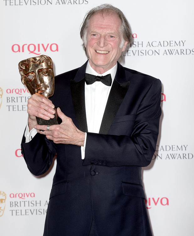 BAFTA Television awards 2014: David Bradley