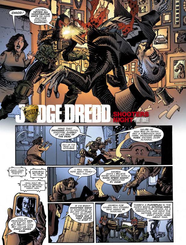 Judge Dredd - Shooters Night