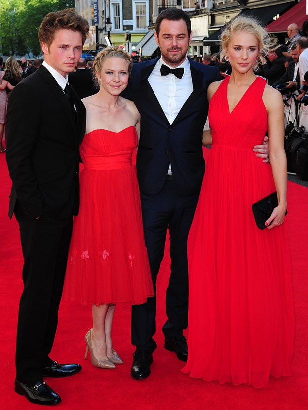 BAFTA Television awards 2014: Sam Strike, Kellie Bright, Danny Dyer and Maddy Hill