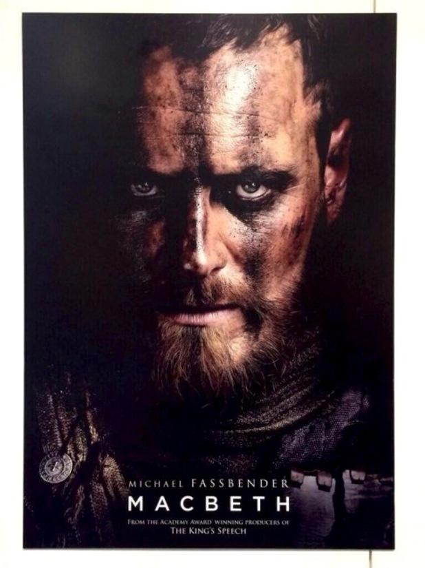 Michael Fassbender's Macbeth poster