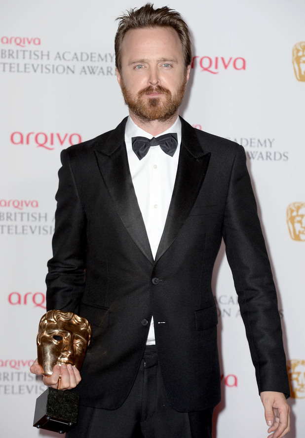 BAFTA Television awards 2014: Aaron Paul
