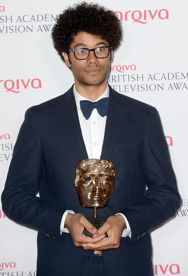 BAFTA Television awards 2014: Richard Ayoade