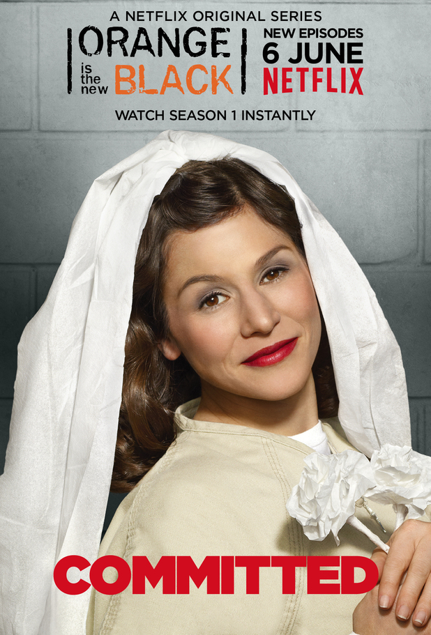 Yael Stone as Lorna in Orange Is the New Black season two character poster
