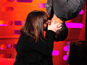 Dawn French recreates Spider-Man kiss