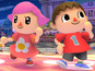 Super Smash Bros adds girl villager