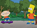 The Simpsons, Family Guy crossover episode Bart and Stewie