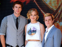 The cast walked the Cannes red carpet ahead of the new Hunger Games premiere.
