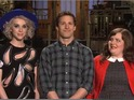 Brooklyn Nine-Nine star promotes season finale of SNL.