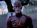 Grant Gustin stars as the fastest man alive in The CW's Arrow spinoff.