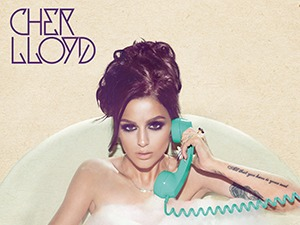 Cher Lloyd 'Sorry I'm Late' album artwork.