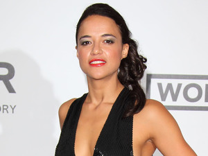 CAP D'ANTIBES, FRANCE - MAY 22: Michelle Rodriguez attends amfAR's 21st Cinema Against AIDS Gala, Presented By WORLDVIEW, BOLD FILMS, And BVLGARI at the 67th Annual Cannes Film Festival on May 22, 2014 in Cap d'Antibes, France. (Photo by Mike Marsland/WireImage)