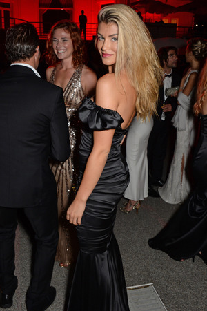 CAP D'ANTIBES, FRANCE - MAY 22: Amy WIllerton attends amfAR's 21st Cinema Against AIDS Gala after party presented by WORLDVIEW, BOLD FILMS, and BVLGARI at Hotel du Cap-Eden-Roc on May 22, 2014 in Cap d'Antibes, France. (Photo by Dave M. Benett/amfAR14/WireImage)