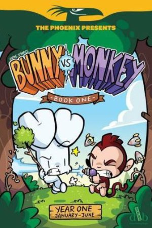 Bunny vs Monkey Book One