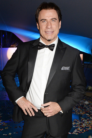 CANNES, FRANCE - MAY 21: (ITALY-OUT) John Travolta attends the welcome party for Puerto Azul Experience Night at Villa St George on May 21, 2014 in Cannes, France. (Photo by David M. Benett/Getty Images for Puerto Azul)
