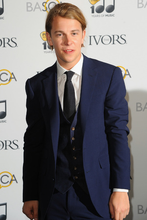Tom Odell attends The Ivor Novello Awards at The Grosvenor House Hotel, 2014