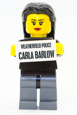 The murder of Tina McIntyre in LEGO