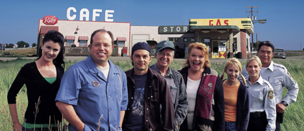 The cast of Corner Gas