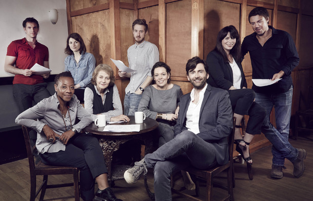 The cast of Broadchurch series 2