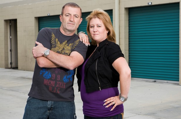 Lori and Brandon Bernier on Storage Hunters