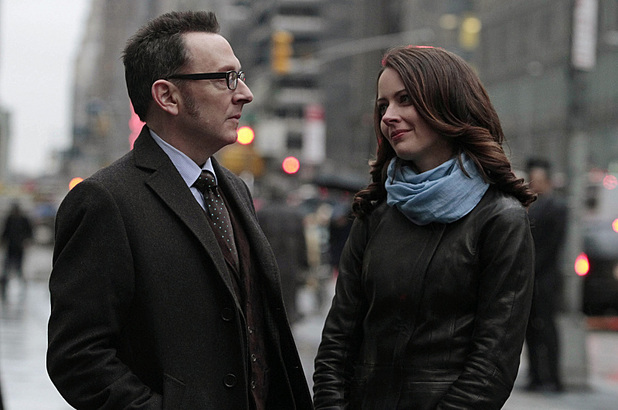 Michael emerson & Amy Acker in Person of Interest S02E21: 'Zero Day'