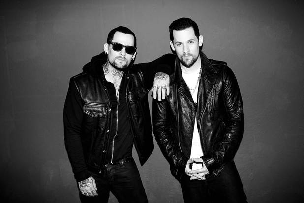 The Madden Brothers (Joel and Benji Madden).