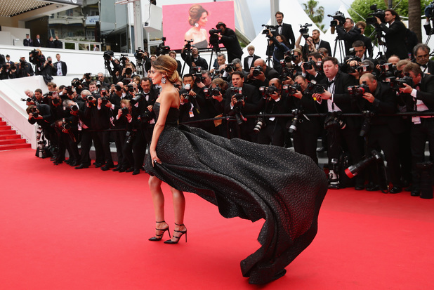 CANNES, FRANCE - MAY 19: Cheryl Cole attends the 'Foxcatcher' premiere during the 67th Annual Cannes Film Festival on May 19, 2014 in Cannes, France. (Photo by Vittorio Zunino Celotto/Getty Images)