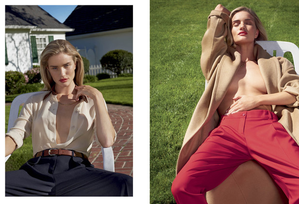 Rosie Huntington Whiteley in V magazine