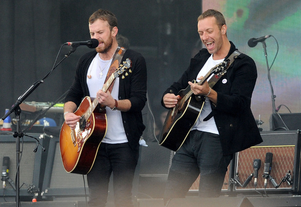 Radio 1's Big Weekend - Day 3 Caleb Followill and Chris Martin