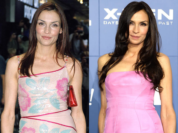 The cast of X-Men then and now: Famke Janssen