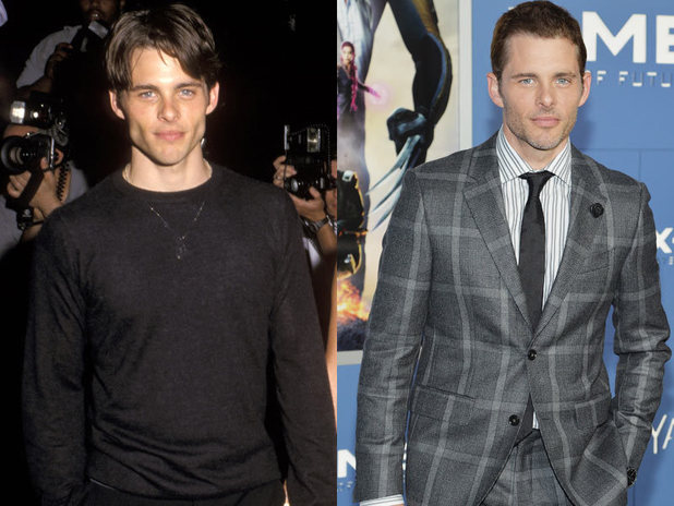 The cast of X-Men then and now: James Marsden