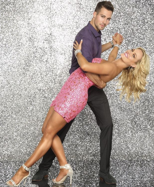 Dancing With the Stars: James Maslow and dance partner Peta Murgatroyd