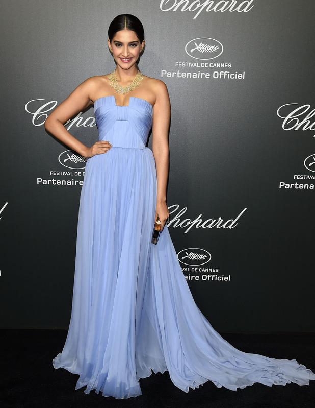 Sonam Kapoor at the Cannes Chopard Backstage Dinner & Afterparty