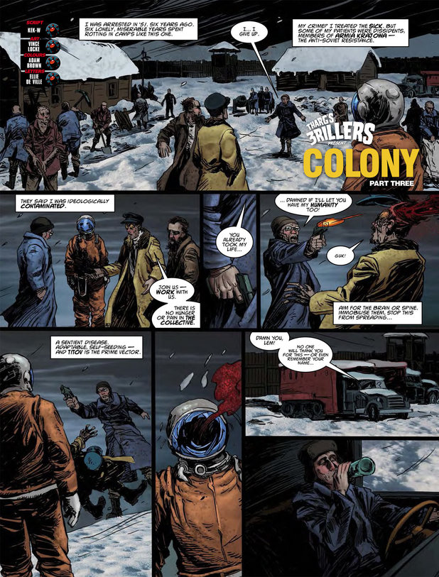 Tharg's 3rillers - Colony