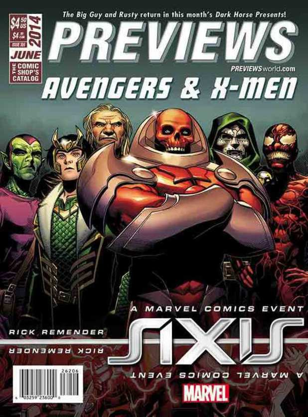 Marvel Axis previews