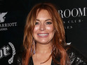 One British celebrity is very excited about Lindsay Lohan's West End debut in September.