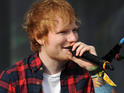 Ed Sheeran is on track for his first UK number one single.