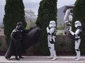 Many classic Star Wars characters turn up in new comedy short.