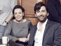 David Tennant and Olivia Colman will return to screens in January 2015.