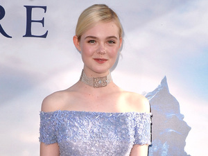 HOLLYWOOD, CA - MAY 28: Actress Elle Fanning attends the World Premiere of Disney's 'Maleficent' at the El Capitan Theatre on May 28, 2014 in Hollywood, California. (Photo by Kevin Winter/Getty Images)