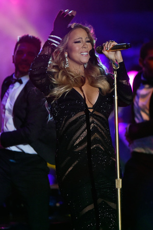 MONTE-CARLO, MONACO - MAY 27: Mariah Carey performs during the ceremony of World Music Awards at Sporting Monte-Carlo on May 27, 2014 in Monte-Carlo, Monaco. (Photo by Pascal Le Segretain/Getty Images)