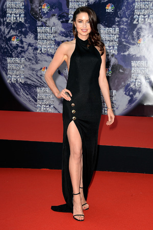 MONTE-CARLO, MONACO - MAY 27: Model Emma Miller arrives the World Music Awards at Sporting Monte-Carlo on May 27, 2014 in Monte-Carlo, Monaco. (Photo by Pascal Le Segretain/Getty Images)