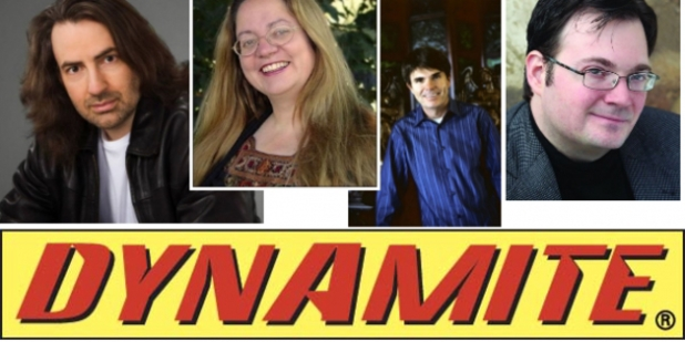 Dynamite comics new novelists