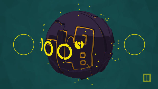 Bounden is a smartphone dancing game for two players