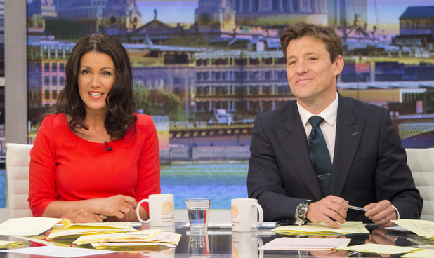 Susanna Reid and Ben Shephard on Good Morning Britain, 29th May 2014