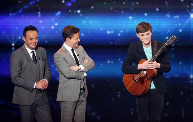 Britain's Got Talent second live semi-final: James Smith with Ant and Dec