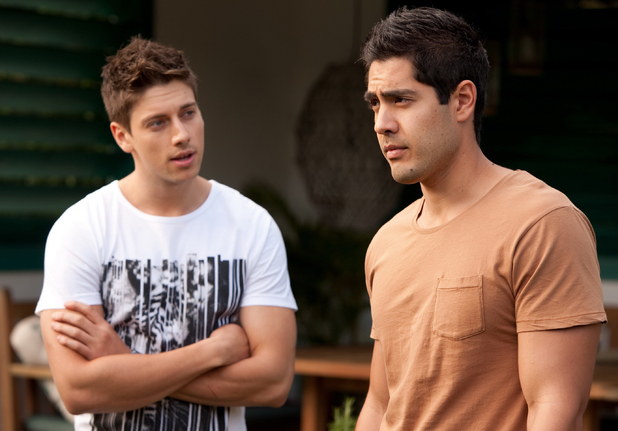 Confronts brax after discovering the truth about casey s paternity