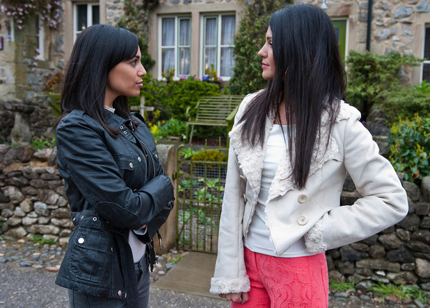 Alicia confronts Priya about her feelings for David,