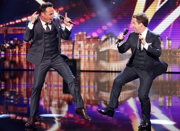 Britain's Got Talent first live semi-final: Ant and Dec